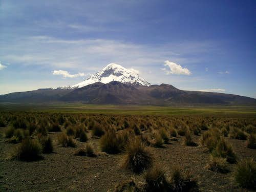 Sajama and the village