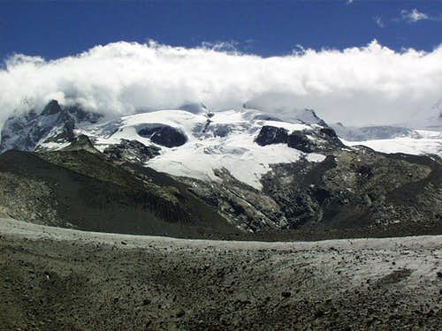 Monte Rosa from Gornergletscher