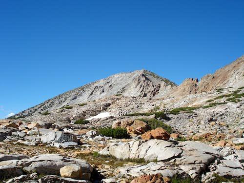 The southwest face of Grey Peak