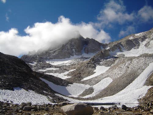 WEATHER FORMING OVER BEAR CREEK SPIRE