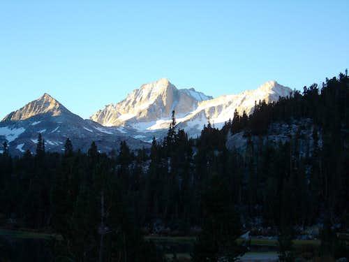 Pyramid Peak, Bear Creek Spire, Mt. Dade