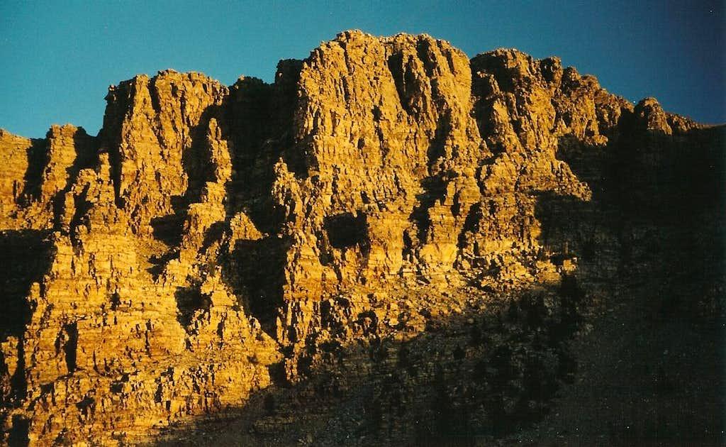 Cliffs above Baker Lake