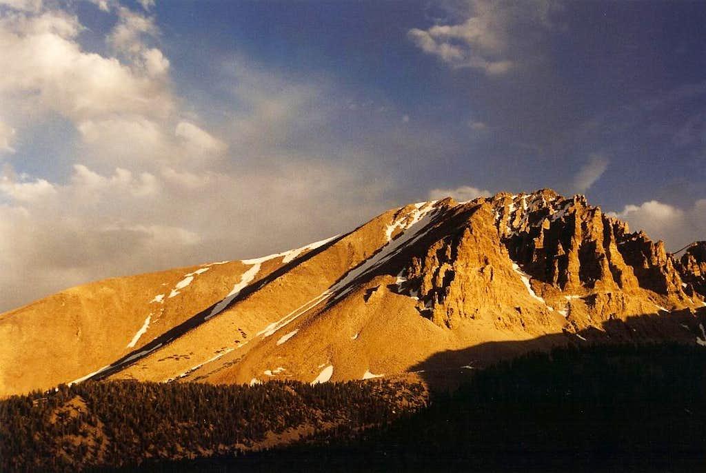 Jeff Davis Peak, Sunset