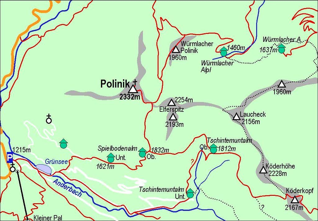 Polinik map