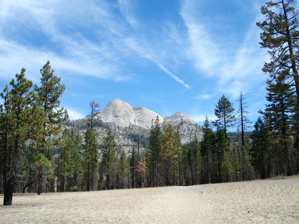 Yet another picture of Mt. Starr King from near Illilouette Creek