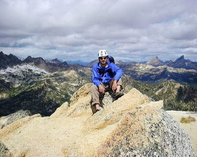 Me chilling on the summit of...