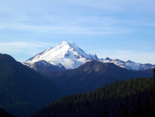 Mount Baker from Yellow Aster Butte