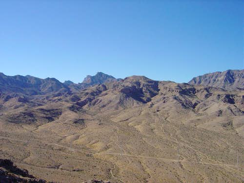 Box Canyon and La Madre Mountain