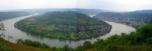 Panorma from Gedeonseck
