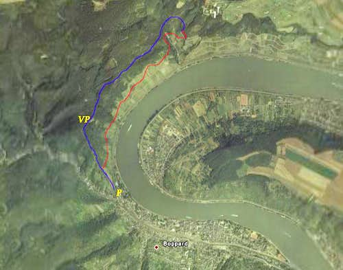Boppard from Space