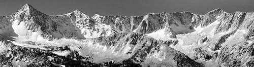 Alpine Ridge (Pfeiffhorn to South Thunder Mtn)