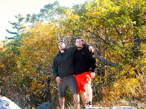 Hiking and Bouldering