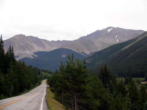 Ellingwood from Independence Pass