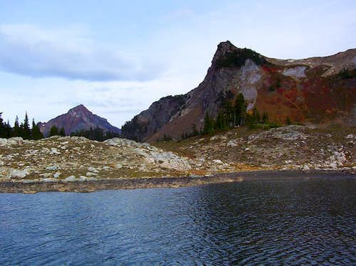 Mount Larrabee and Yellow Aster Butte