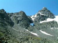 Overall view of Navajo Peak