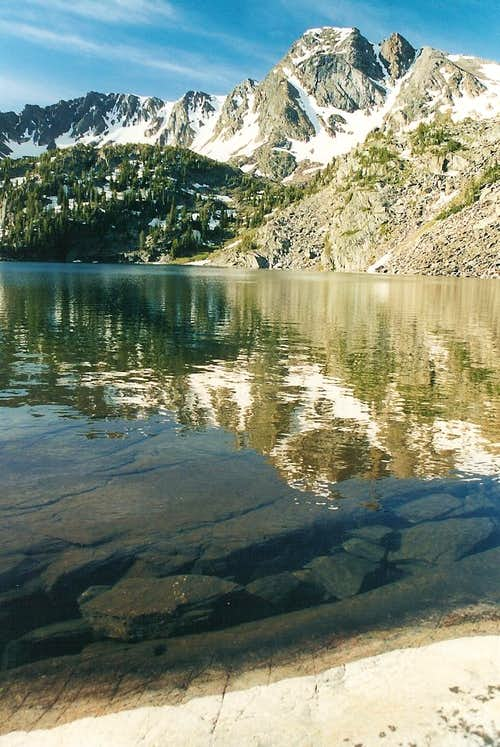 Black Mountain and Pine Creek Lake
