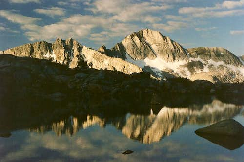 Giraud Peak, Sunrise
