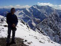 In the summit of Bachimala