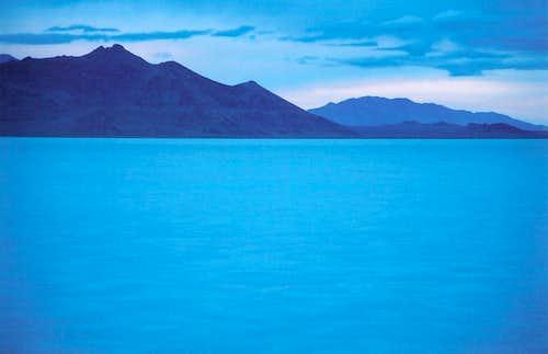 Silver Island Mountains, Dawn