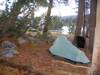 Campsite at Dorothy Lake