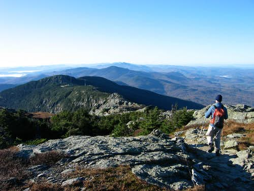 Ridge of Mt. Mansfield