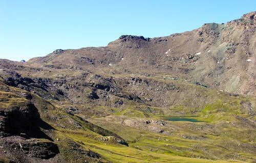 Il lago Doreire (2732 m)