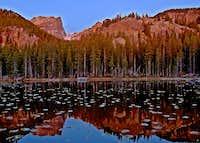 Nymph Lake Reflection
