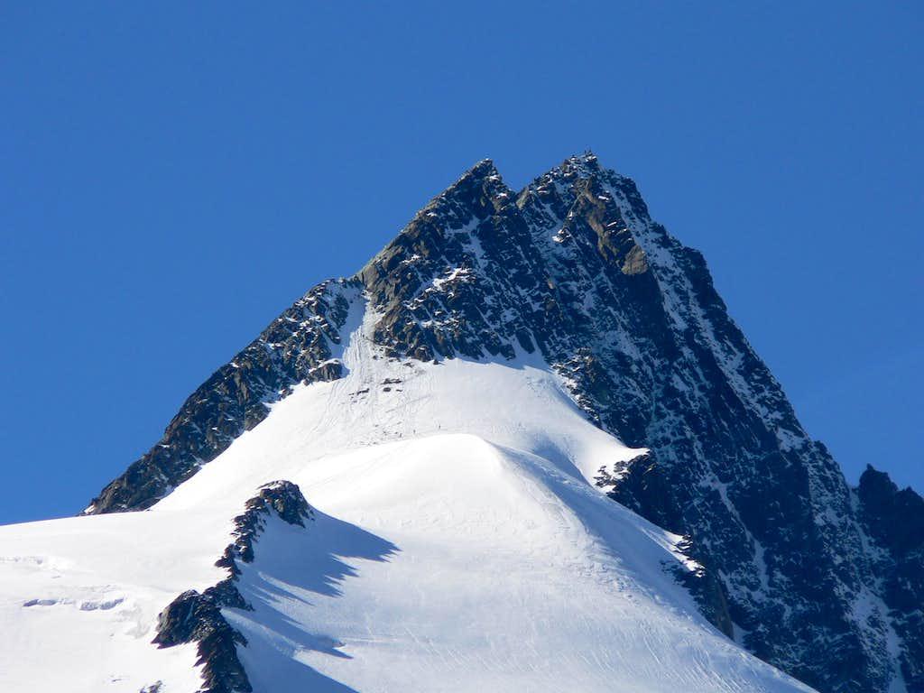 Grossglockner summit in October