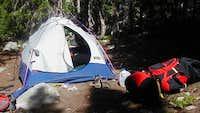 What a fantastic campsite we...