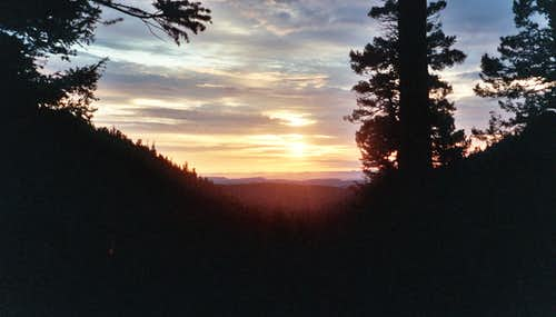 Dawn at Sawmill Camp, Philmont