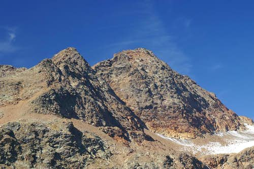 Nock (3185m) and Botzer (3251m)