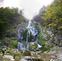 Boncic waterfall
