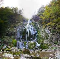 Boncic waterfall