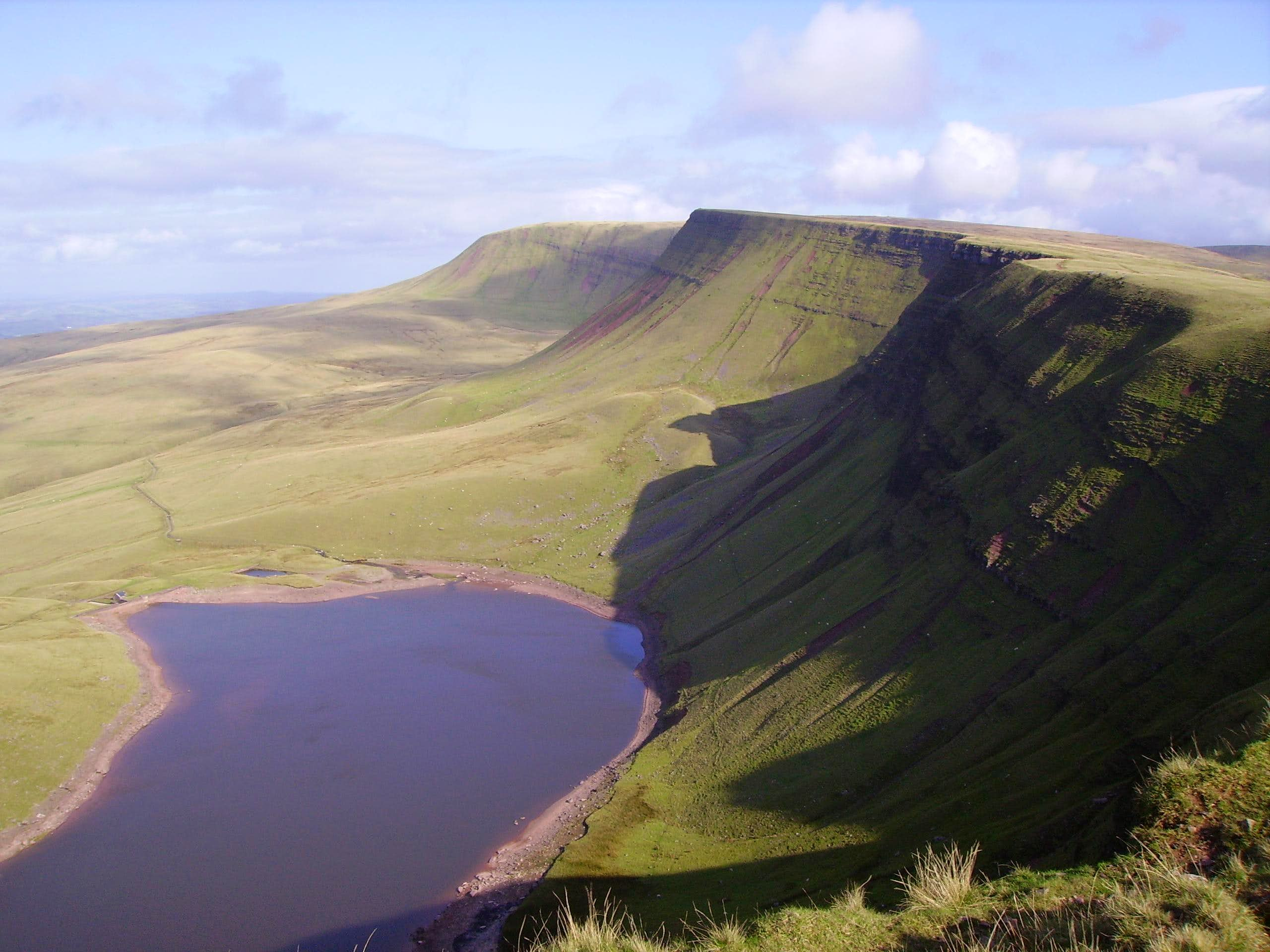 The Black Mountain  (West Brecon Beacons)