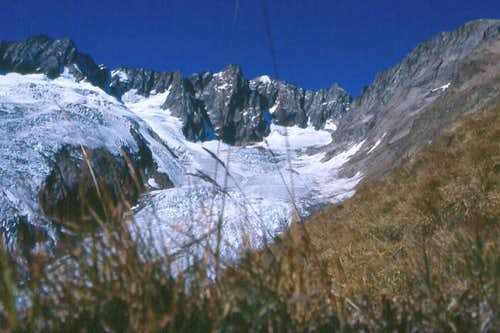 On the way to the Chelenalp-hut