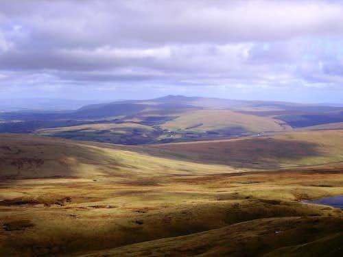 Distance Brecon Beacons