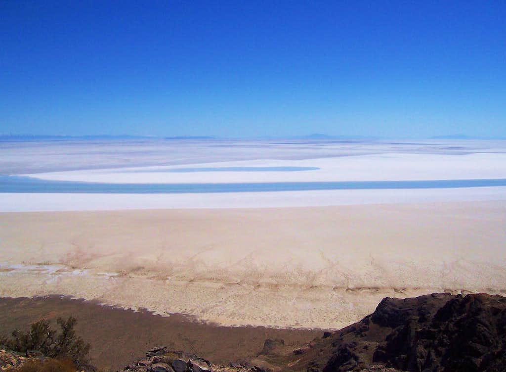 View east from Lamus Peak