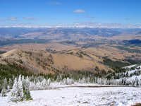 Summit View on clear September day