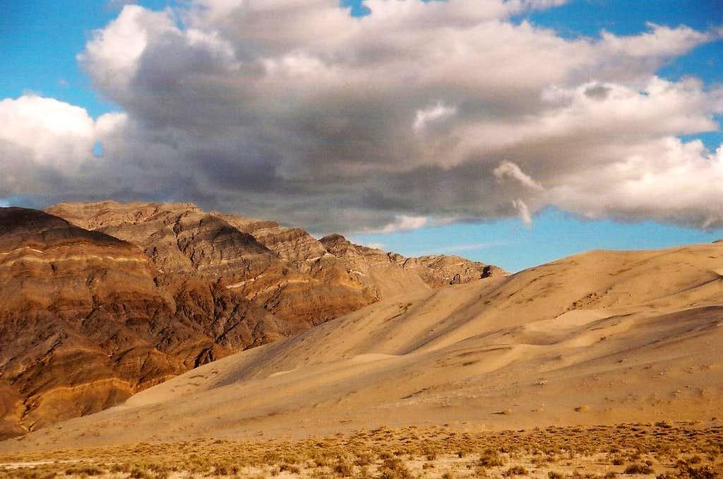 Eureka Dunes and the Last Chance Range