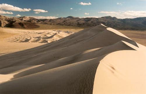 Eureka Dunes Summit View
