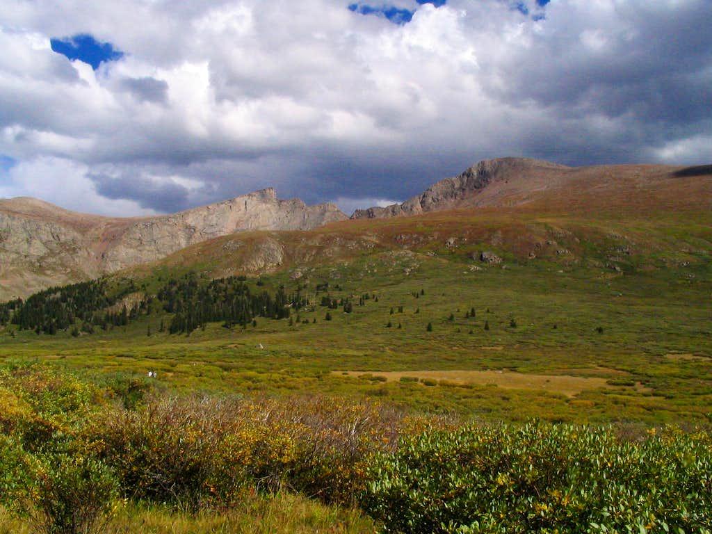 Mt. Bierstadt in September