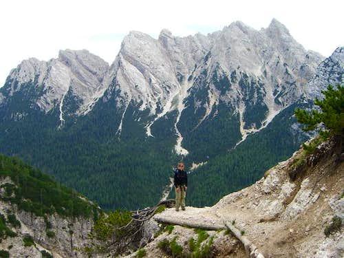 Descent to Val Padeon