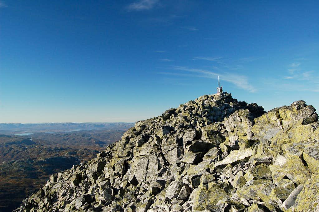 Summit of Gaustatoppen