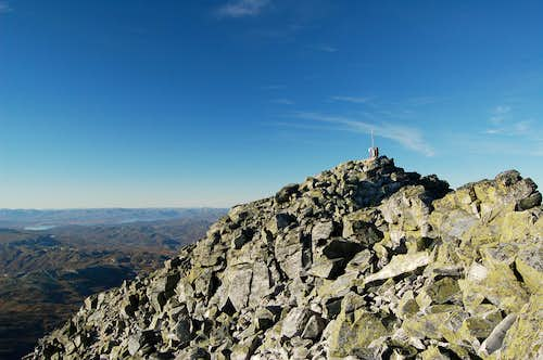 Summit of Gaustatoppen