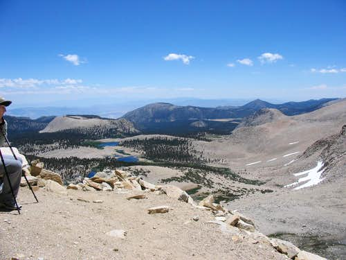 View from New Army Pass
