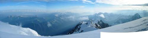 Aiguilles de Chamonix from...