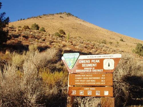Walker Pass Trailhead
