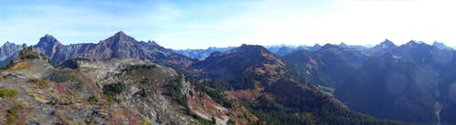Yellow Aster Butte False Summit Panorama