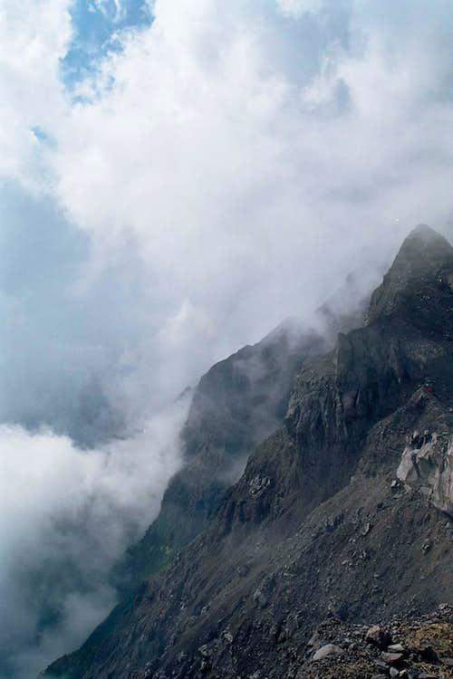 The Ridge to Peak 17 of Mt. Raung