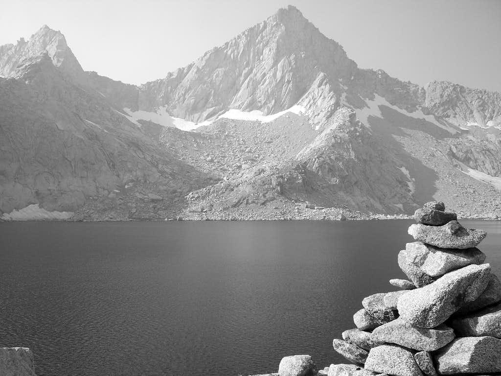 Columbine Lake B/W